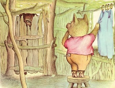 Wolf & pig