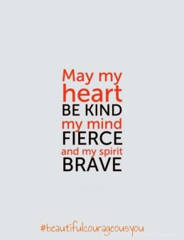 kind fierce brave