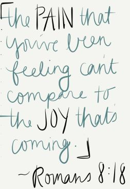 Joy is coming